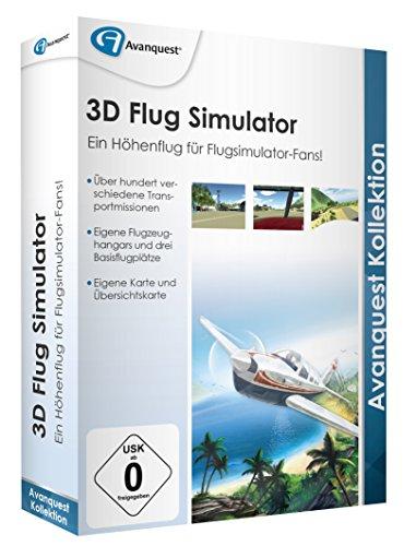 Preisvergleich Produktbild 3D Flug Simulator - Avanquest Kollektion