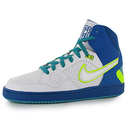 Nike Uomo Sneaker SON OF FORCE MID 616281-403 Blu / Blanco