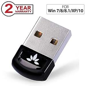 Avantree Adattatore Bluetooth   Chiavetta Bluetooth USB 4.0 per PC e Notebook compatibile con Windows 10, 8, 7, XP e Vista   Plug and Play o con driver IVT   Compatibile con cuffie, altoparlanti e mouse Bluetooth