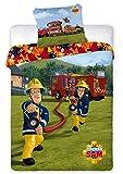 SamPompier Feuerwehrmann Sam Wendebettwäsche, 100%
