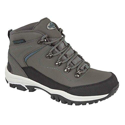 Northwest Territory , Chaussures de randonnée basses pour femme Grey / Lt Blue
