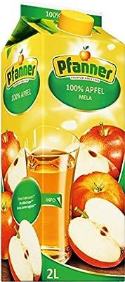 Pfanner Apfelsaft 100%, 6er Pack (6 x 2 l Packung)