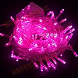 Riflection 15 Metre Long Pink Colored Decorative LED Lights. Static Pattern LowPrice Festival Decoration Light LED.