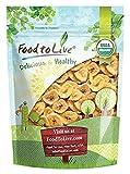 Food to Live chips di banana Bio (Biologico, Organic, non ogm, kosher, insoddisfatto, alla rinfusa) - 906 grammi