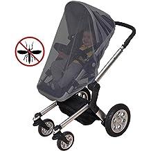 CalMyotis® Universal Insektenschutz / Mückennetz für Kinderwagen, Buggy, Reisebett