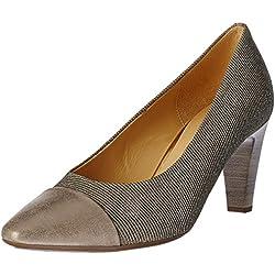 Gabor Shoes Damen Fashion Pumps, Silber (Platino/Muschel 62), 37 EU