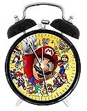 Dekad Super Mario Games W42 Wecker/Tischuhr 9,5 cm