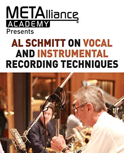 Al Schmitt on Vocal and Instrumental Recording Techniques (Metalliance Academy Presents)