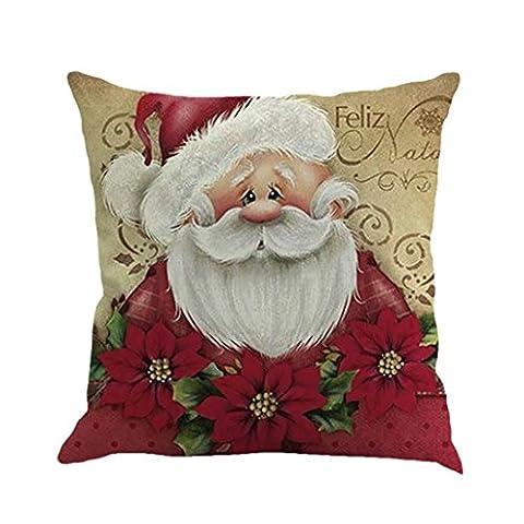 Lanspo Frohe Weihnachten Kissenbezug Home Decor Druck Färben Sofa Bett Zimmer Dekor Kissenbezug Kissenbezug 18