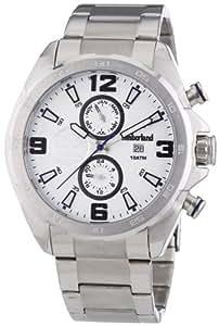 Timberland - TBL.14114JS/04M - Montre Homme - Quartz Analogique - Bracelet Acier Inoxydable Argent