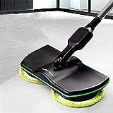 Super Maid - Balai électrique sans fil - Rechargeable - Pour nettoyer les sols - Polisseuse - Aspirateur à main - Pour sols et moquettes