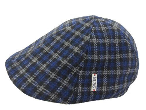 NC56 Herren Flatcap im Karo Design 59