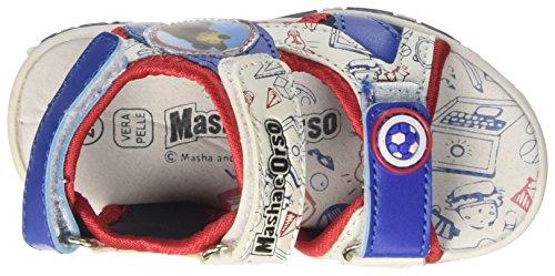 MASHA E ORSO  S15710waz, Chaussures souple pour bébé (garçon) - bleu - bleu Bleu