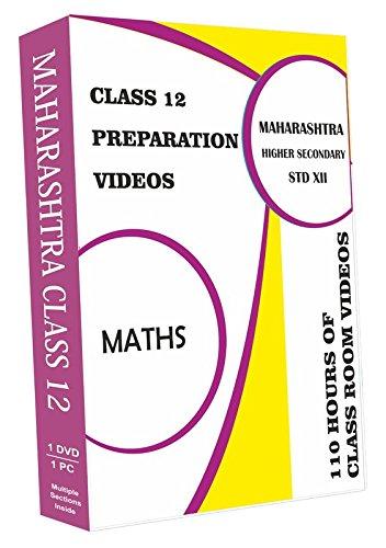 AVNS INDIA Maharashtra Higher Secondary Class 12 - Maths Full Syllabus Teaching Video (DVD)
