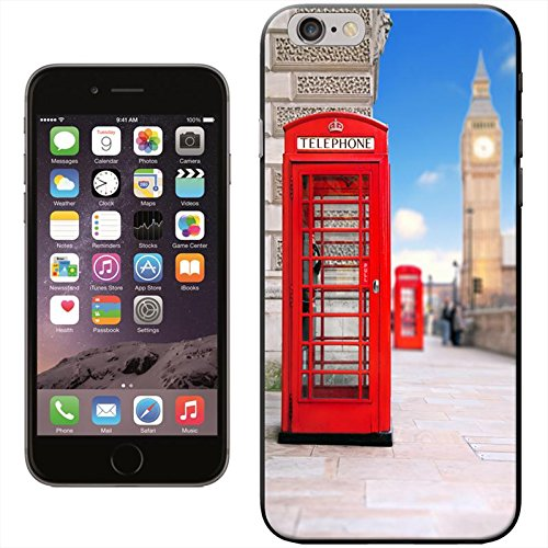 Fancy A Snuggle 'Double Decker Red Bus Big ben' Hard Case Clip On Back Cover für Apple iPhone 5 C Red Phone Box & Big Ben