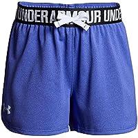 Under Armour Play Up - Pantalones Cortos Deportivos para niña