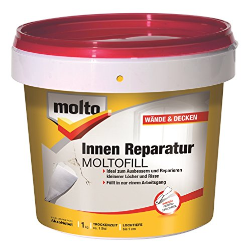 Molto Reparatur Moltofill Fertigspachtel Spachtelmasse 1kg