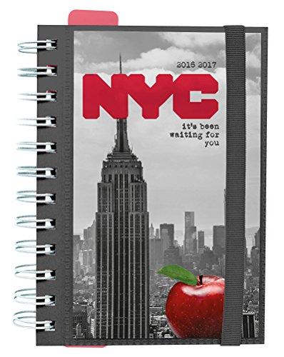 Grupo Erik Editores New York - Agenda escolar dp 2016/2017, 11.4 x 16.5 cm