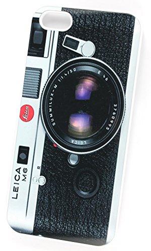 Vintage Leica M6pour appareils SLR à l'avant (iPhone 4/4S Blanc Plastique rigide Coque de protection/Coque)