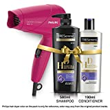 TRESemme Hair Fall Defense Shampoo 580ml and Conditioner 190ml Combo Pack + Philips