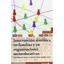Intervención sistémica en familias y organizaciones socioeducativas (Universidad)