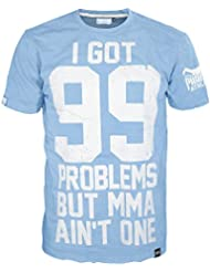 "'Phantom Athletics – Camiseta ""99 Problems – Light Blue, color azul, tamaño XL"