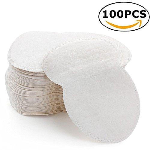 StillCool Coussinet Anti Transpirant, Patchs de Transpiration Lingette Jetables Protège Aisselles (100Pcs)