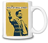 The Wolf Of Wall Street Spend Party Becher-Schale Coffee Mug Ceramic Coffee Tea Beverage Kitchen Mugs By Slick Stuff