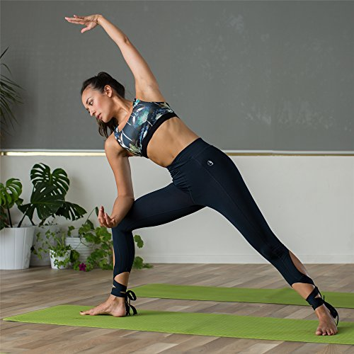icyZone® Sexy Soutien-gorge Sport Push up Bra Lingerie Vest Avec Brassière Yoga Lotus