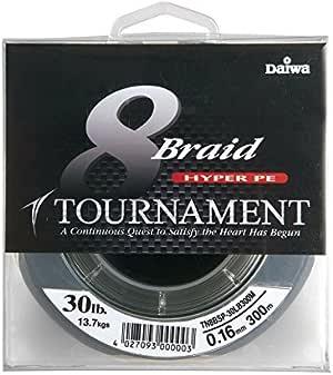 geflochtene Angelschnur Daiwa 2 STK Tournament 8 Braid EVO 135m Chartreuse Doppelpack