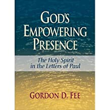 [ { God's Empowering Presence: The Holy Spirit in the Letters of Paul } ] BY ( Author ) Jun-2009 [ Paperback ]