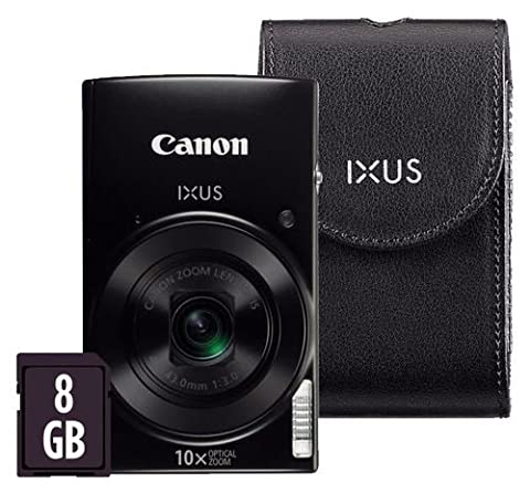 Canon IXUS 182 ( 20 MP,10 x Optical Zoom,2.7 -inch