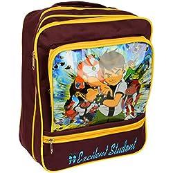 School Bag Canvas Ben Ten Print By Maa Bhagwati