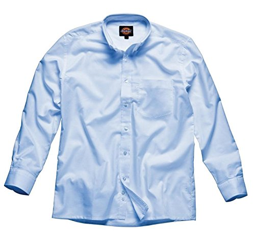 Dickies Manches Longues Chemise Oxford Blanc