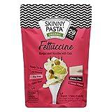 Skinny Pasta 270g - Fideos 100% Konjac (Fideos Shirataki), Fettuccine, Paquete de 6