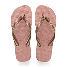 Havaianas Women's Top Tiras Flip Flops, Rose Nude, 1/2 1.5 UK