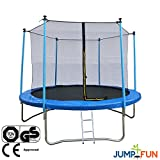 JUMP4FUN  Trampoline Bleu