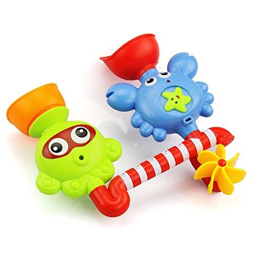 Baby Baden Baden Spielzeug Kinder Wasser Wasserhahn Sprühen Badewanne Krabbe Krake Dusche-Spielzeug (Wasserhahn-combo Dusche Und Badewanne)