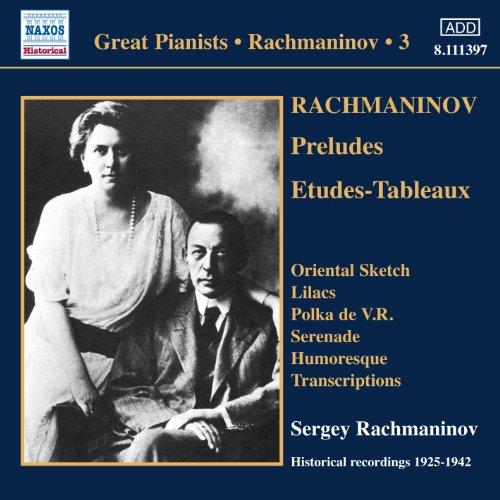 Rachmaninov: Piano Solo Record...