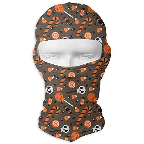 Xukmefat Vollmaske Ski Mask Atmungsaktiv Schnell trocknend Halloween Cartoon Holiday Candies Men Women