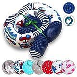 Cuscino da letto intrecciata Culla - Paracolpi Lettino Riduttore per baby bambini snake bed border Anti-allergia cotone Nest Roll Auto modello 210 cm