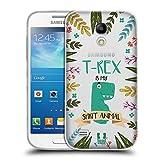 Head Case Designs T-Rex Seelen Tiere Abbildungen Soft Gel Hülle für Samsung Galaxy S4 Mini I9190