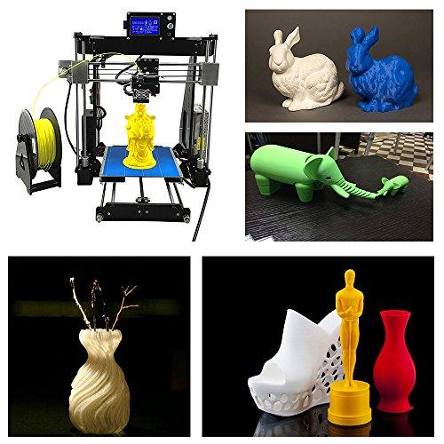 UNICUBIC U1 Hochpräzisions-3D-Drucker, Prusa i3 DIY Unmontierter 3D-Drucker-Kit, Max. Druckgröße 210 * 210 * 225mm, Free 0,25 Kg Free Filament, 12 Monate Garantie -