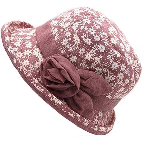 Pescatore cappello femminile/Visiera di sole di estate/Cappello