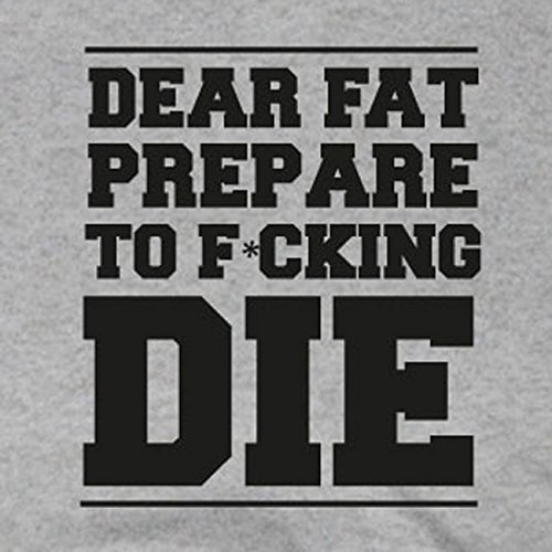 Dear Fat - Damen T-Shirt Hellblau