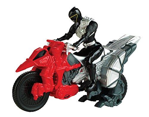 Power Rangers - Dino Charge, Moto e personaggio, colore: Nero