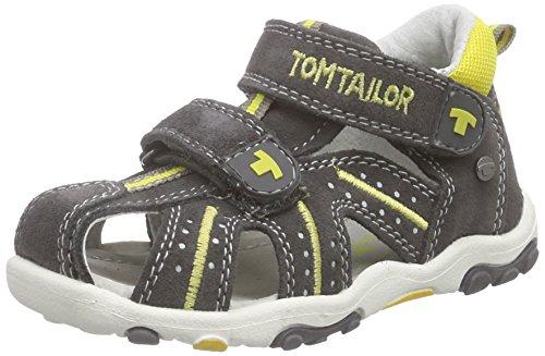 TOM TAILOR Kids Kinderschuhe, Baby Jungen Lauflernschuhe, Grau (Grey-Yellow), 24 EU
