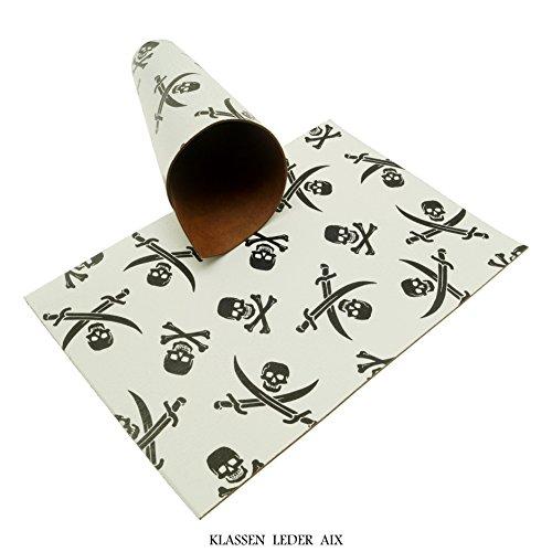 Klassen Leder AIX Rindsleder 2,5 mm Dick Used Craquelé Design 180 (210 x 297 mm, 1 x A4)