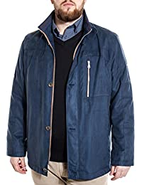 Manteau mi-saison Pierre Cardin bleu marine