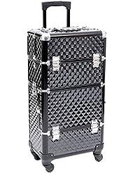 Songmics® Valise Make Up Beauty Case Nail Art Valise coffret Porte Bijoux Vernis objets JHZ04B